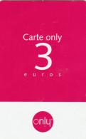 Outremer Telecom - Carte Only - 3€ - 2 - Phonecards