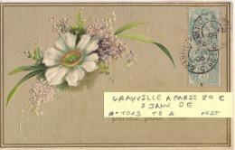 AMBULANT GRANVILLE A PARIS 2° C  TàD 2 JANV 06 - POTHION N° 1013 TYPE II ALLER NUIT - Poste Ferroviaire