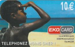 Reunion - EkoCard - XTS Telecom - Child Looking At Sea - 1 - Reunion