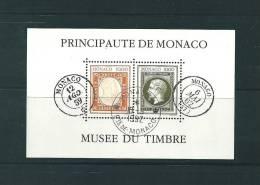Monaco Bloc Feuillet N°58  Oblitéré - Blocks & Sheetlets