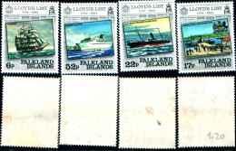 86004) Falkland Islands 1984 Anniversario 1° Edizione Liste De Le Lloyd 420-23 MNH - Falkland
