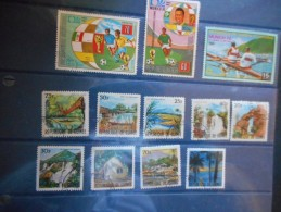 GUINEE EQUATORIALE - JO MUNICH 72 & 74 + SERIE PAYSAGES - Äquatorial-Guinea