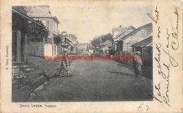 1909 Freetown Sierra Leone - Sierra Leone