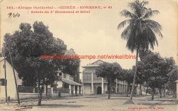 1913 Entrée Du 3e Boulevard Et Hôtel Konakry Guinée - Guinée Française