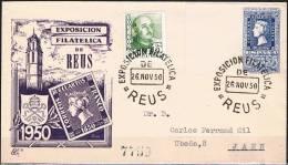 1950.- REUS (TARRAGONA) A JAÉN - 1931-Hoy: 2ª República - ... Juan Carlos I