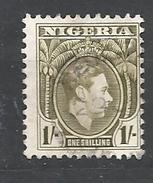 NIGERIA      1938 -1951 King George VI   USED - Nigeria (...-1960)