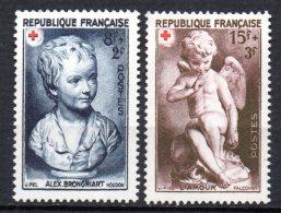France   N° 876 à 877 Neuf  XX  MNH , Cote :  6,10 €  Au Quart De Cote - France