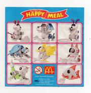 MC DONALD'S - 2001 -  Cartina Sorpresa Happy Meal -  (FDC906) - Istruzioni