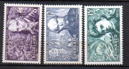 France   N° 908 à 910  Neuf  XX  MNH , Cote :   3,00 €  Au Quart De Cote - France