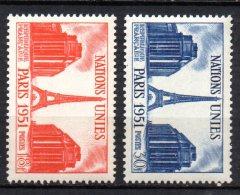 France   N° 911 & 912  Neuf  XX  MNH , Cote :   3,85 €  Au Quart De Cote - France