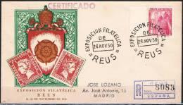 1950.- REUS (TARRAGONA) A MADRID - 1931-50 Cartas