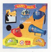 MC DONALD'S - 2002 -  Cartina Sorpresa Happy Meal -  (FDC910) - Istruzioni