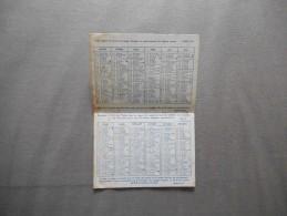 CALENDRIER 1962 OEUVRE PONTIFICALE DE SAINT PIERRE APOTRE POUR LE CLERGE INDIGENE - Petit Format : 1961-70