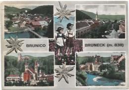 Y2372 Brunico Bruneck (Bolzano) - Panorama Vedute Multipla - Bambini Enfants Children Kinder Nino / Viaggiata 1959 - Italie