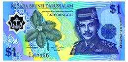 BRUNEI 1 RINGGIT 1996 Pick 22a Unc - Brunei