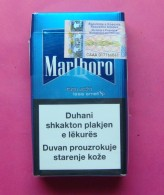 MARLBORO TOUCH KOSOVO EDITION WITH NEW FISCAL STAMP HARD PACK. - Boites à Tabac Vides
