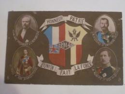 HONNEUR PATRIE 1914 L' UNION FAIT LA FORCE - Geschiedenis