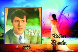 Carte Postale, Célébrités,  Chanteurs, Belgium, Full Collection Salvatore Adamo, 1966, Dolce Paola - Sänger Und Musikanten