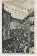PLOMBIERES LES BAINS - Le Jour De L'Ascension, Procession De La Bénédiction Des Thermes - Plombieres Les Bains