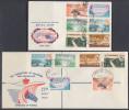 B150701  UNSERVICED SPOTLESS FDCs X 2 Rhodesia And Nyasaland 1960 Kariba £65 Afrique Du Sud Afrika Rhodésie Rhodesien - Rhodesia & Nyasaland (1954-1963)