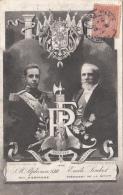 Evènements - Histoire - Réception Souverain Espagnol - Emile Loubet - Réceptions