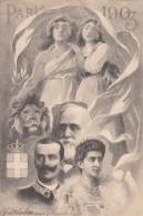 Evènements - Réception Souverains Italiens - Paris 1903 - Lion - Réceptions