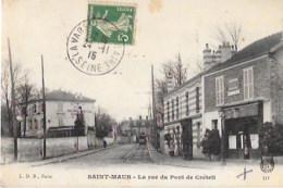 SAINT-MAUR (Val De Marne-94) La Rue Indu Pont De Créteil - Saint Maur Des Fosses