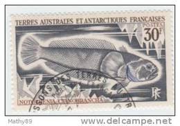 TAAF N° 38 YVERT  POISSONS  DIVERS - Terre Australi E Antartiche Francesi (TAAF)