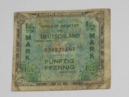 1/2 Mark Fünfzig Pfennig - Allied Occupation WWII - ALLEMAGNE - Série 1944  **** EN ACHAT IMMEDIAT **** - 1945-1949: Alliierte Besatzung