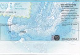 Switzerland  International Reply Coupon IRC CN 01 COUPON-RÉPONSE INTERNATIONAL UPU With HOLOGRAM - Switzerland