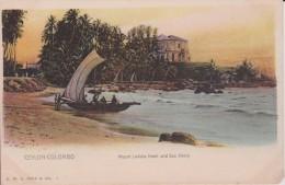 "ASIE SRILANKA CEYLON COLOMBO  "" Mount Lavinia Hotel And Sea Shore - Sri Lanka (Ceylon)"