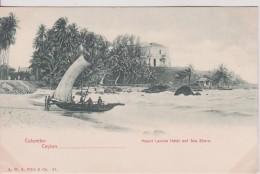 "ASIE SRILANKA CEYLON COLOMBO  "" Mount Lavinia Hotel And Sea Share "" - Sri Lanka (Ceylon)"