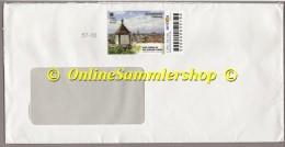 Privatpost - Arriva - Umschlag - Marke: Schwabentor Freiburg - BRD