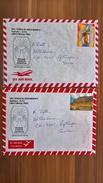 Dos Letras De Perú Para Oftringen En Suiza ~2007 Via Aerea/Zwei Briefe Von Peru Nach Oftringen In Der Schweiz ~2007 - Pérou
