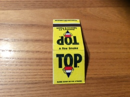 "Pochette D´allumettes ETATS UNIS ""TOP - A Fine Smoke"" - Boites D'allumettes"