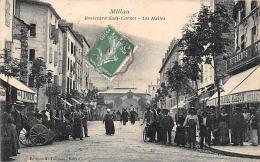 Millau       12    Bd Sadi Carnot Et Les Halles - Millau