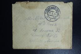 Poland: 1921 Cover Postwar Stampless Turka-Nad-Stryjek , GERMAN Datestamp 21-1-21 US Pstage Due - 1919-1939 République