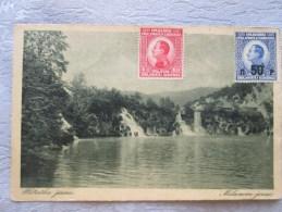 Slovenie  ; Plitvicha Jezera - Slovénie