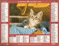 ALMANACH  DU  FACTEUR  2010    Vosges    CHATON - Petit Format : 2001-...