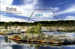 EE 2016 SAVE NATUR RABA, ESTONIA, S/S, MNH - Estland