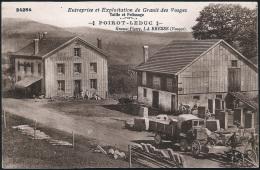 88 . LA BRESSE . Entreprise Et Exploitation De Granit Des Vosges - Taille Et Polissage - POIROT LEDUC - Altri Comuni