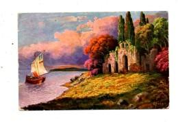 MK423 - Ed. AMAG , Cartolina Viaggiata . Difetti - Pittura & Quadri