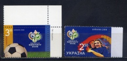 UKRAINE 2006 789-790 Football World Cup 2006