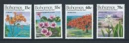 Bahamas 1993 Environment I Flower Set 4 MNH - Bahamas (1973-...)