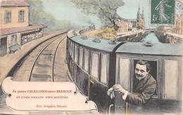 51 - Chalons-sur-Marne - Carte Colorisée - (Je Vous Envoie Mes Amitiés) - Châlons-sur-Marne