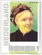 Persoonlijke Postzegel G12A2 Mobiele OKI531 Printer Hilversum 2014 NIEUW!! Vincent Van Gogh The Artists Mother - Timbres Personnalisés