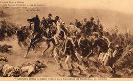 C. Ademollo - Amedeo Duca D 'Aosta Ferito Alla Battaglia Di Custoza - Schilderijen