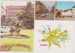 Postcard Polen Poland Polska Gliwice - Pologne