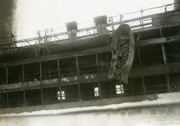 France Marine Paquebot L'ATLANTIQUE Après L'incendie Ancienne Photo Meurisse 1933 - Boats