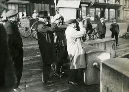 France Cherbourg Marine Arrivée De L'épave De L'ATALNTIQUE Ancienne Photo Meurisse 1933
